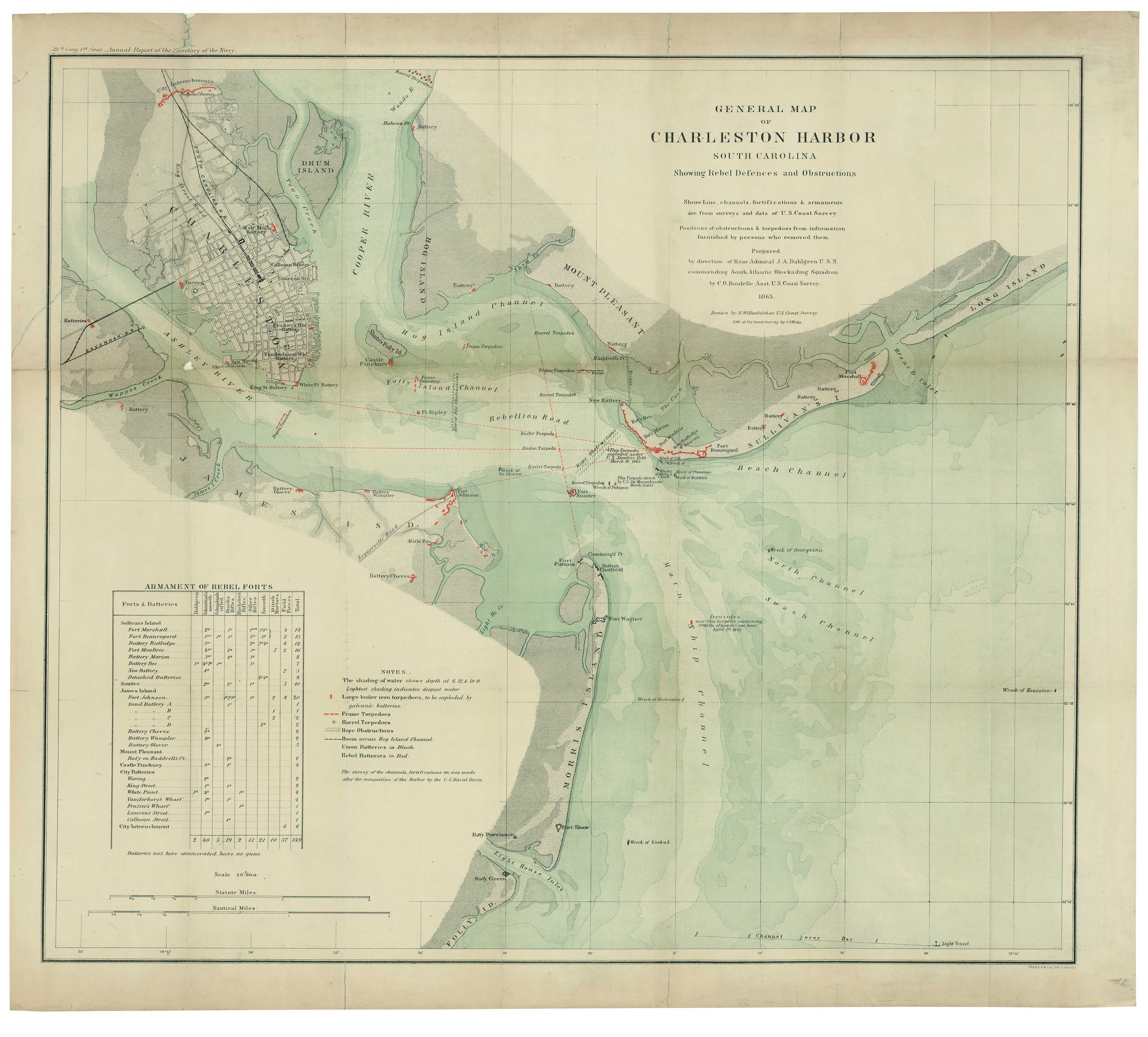 Charleston Harbor Being Mapped For Civil War Relics