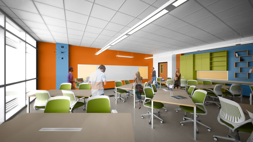 Innovative Classroom Lighting : Hcs scouts conceptual designs for schools thedigitel