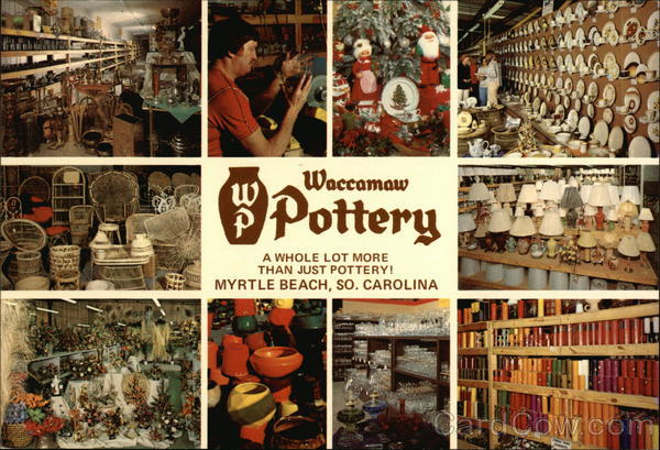 Charleston Sc To Myrtle Beach >> Did you know: Waccamaw Pottery/Shops was one of the ...