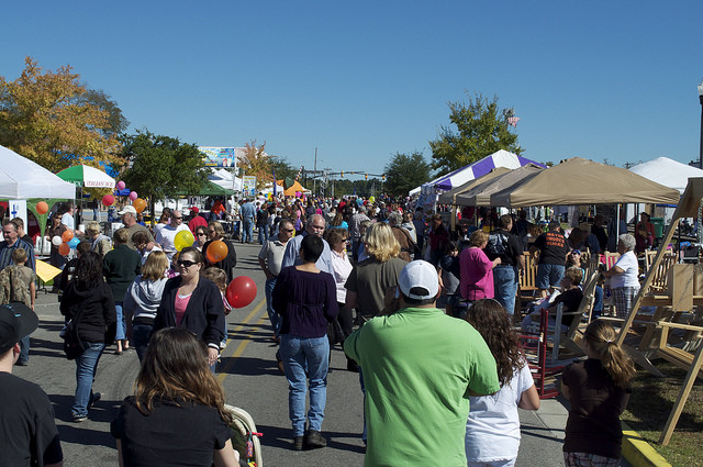 A whole lot of fall festivals and events happening across for Myrtle beach arts and crafts festival