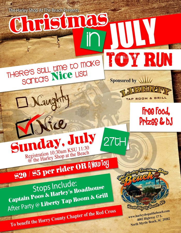 Christmas In July Toy Run TheDigitel