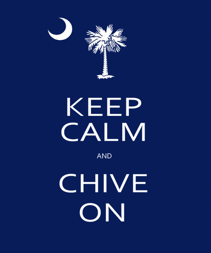 Calm and chive military Keep on meaning